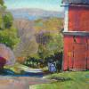 "Barn on Bergen Road First Place Award Winner - Tinicum Pastel, 11"" x 15"""
