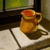 "Yellow Jug in the Window Oil, 8"" x 10"""